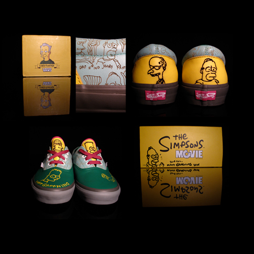 Vans Era Simpsons Movie Gary Panter Sneaker Swap La